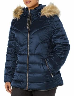 BeBe Women's Outerwear Women's Petite Puffer Jacket
