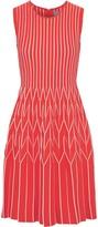 Lela Rose Pleated Ponte Dress