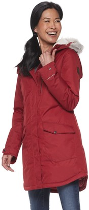 Columbia Women's Suttle Mountain Hooded Long Insulated Jacket