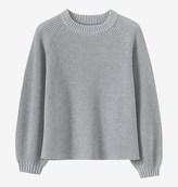 Toast Balloon Sleeve Sweater