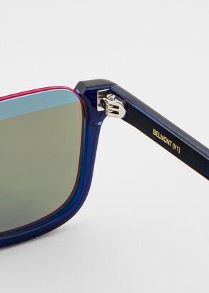 Paul Smith Deep Navy 'Belmont' Sunglasses