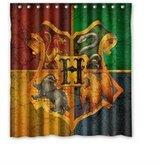Whitexue custom Whitexue Harry Potter Custom Waterproof Shower Curtain 66x72 inch Surprised Gift