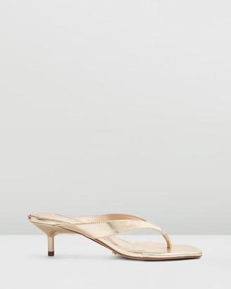 Topshop Nina Mini Heel Mules