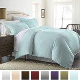 Beckham Hotel Collection Luxury Soft Brushed 1800 Series Microfiber Duvet Cover Set - Hypoallergenic - King/Cal King, Aqua