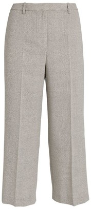 Theory Wide-Leg Wool Trousers
