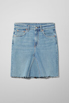 Thumbnail for your product : Weekday Way Re-made Swish Blue Skirt - Blue