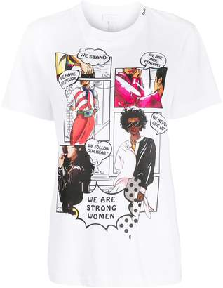 Escada Sport comic print T-shirt