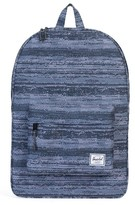 Herschel Men's Classic White Noise Backpack - Blue
