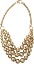 Janis Savitt DESIGNS BY Gold Ball Necklace