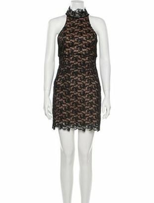 Camilla And Marc Lace Pattern Mini Dress w/ Tags Black