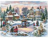 Dimensions Gold Counted Cross Stitch Kit - Aurora Cabin