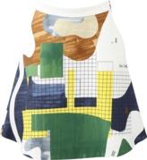 MSGM A-Line Printed Skirt