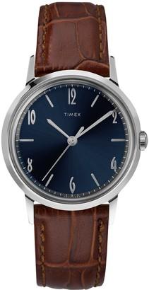 Exclusive Timex + Todd Snyder Marlin Watch Navy Dial