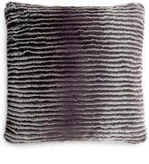 Charter Club Eyelash Stripe Faux-Fur Decorative Pillow