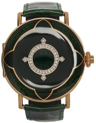 H. Moser & Cie Heritage Perpetual Calendar Watch 48mm