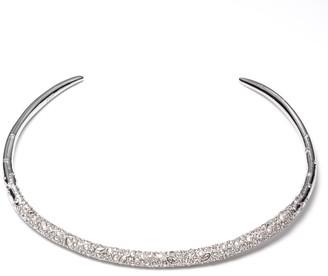 Alexis Bittar Crystal Encrusted Thin Collar