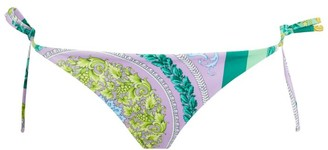 Versace Baroque Print Bikini Bottoms