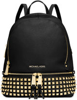 MICHAEL Michael Kors Rhea Small Studded Backpack