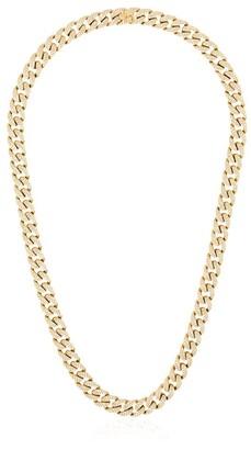 Shay 18kt Gold Pave Diamond Link Necklace