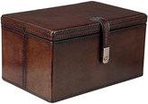 OKA Saddle Leather Treasure/Jewellery Box