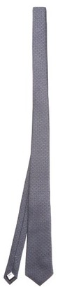 Burberry Manston Tb-jacquard Silk Tie - Blue Multi