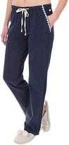 Lucky Sleepwear Embroidered Pajama Pants (For Women)