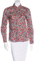 Cacharel Floral Button Up Shirt