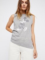 Mickey Mouse Tank by Disney Collection x David Lerner at Free People