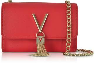 Mario Valentino Valentino By Divina Saffiano Mini Shoulder Bag