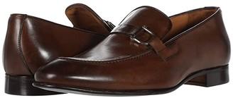 Massimo Matteo Buckle Slip-On (Brandy) Men's Slip on Shoes