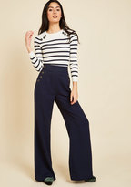 ModCloth Every Opportunity Pants in Navy in M