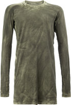 11 By Boris Bidjan Saberi longsleeve T-shirt - men - Cotton - XS