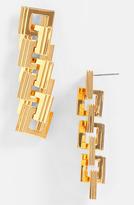 Eddie Borgo Helix Link Earrings