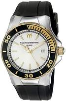 Technomarine Men's TM-215055 Sea Manta Analog Display Swiss Quartz Black Watch by