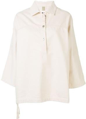 Jil Sander Denim Tunic Shirt