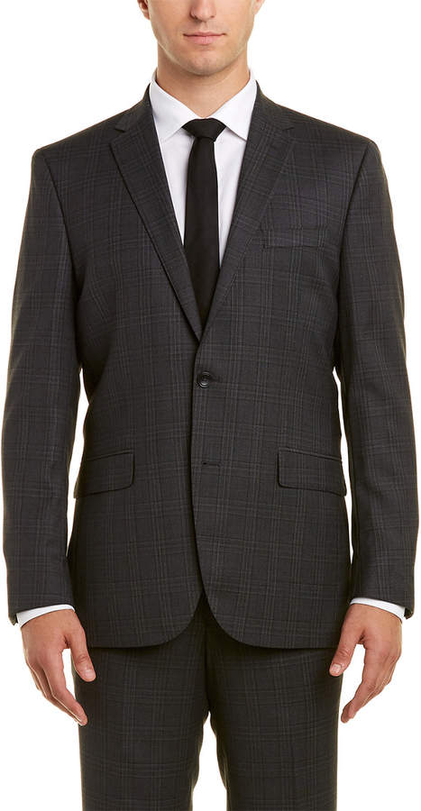 Kenneth Cole New York 2Pc Wool Suit With Flat Front Pant