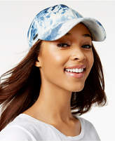 Steve Madden Acid Wash Denim Baseball Cap