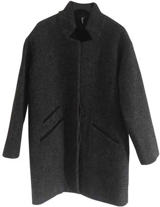 IRO Fall Winter 2019 Anthracite Wool Coats