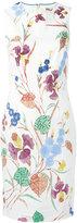Diane von Furstenberg floral print dress - women - Cotton/Polyester/Spandex/Elastane - 8