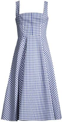 Shoshanna Byancca Sleeveless Gingham Dress