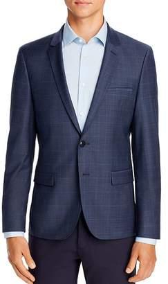 HUGO Arti Tonal Plaid Extra Slim Fit Suit Jacket