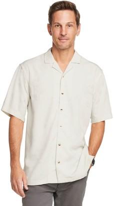 Van Heusen Men's Slim Fit Air Tonal Floral Short Sleeve Shirt