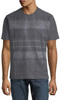 Robert Graham Colton Hall Plaid Embroidered Crewneck T-Shirt