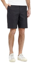 Red Herring Black Textured Pin Dot Shorts