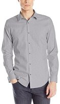 Calvin Klein Men's Slim Fit Infinite Cool Solid Button Down Shirt