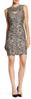 Nicole Miller Cutout Sheath Dress