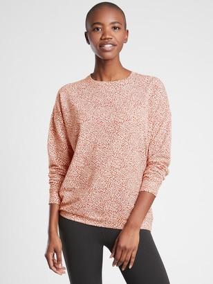 Athleta Studio To Street Printed Sweatshirt