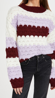 BB Dakota Hot Balloon Stripe Sweater