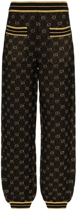 Gucci GG metallic track pants