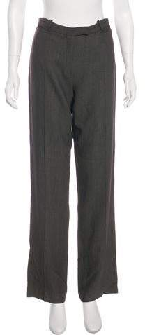 Ann Demeulemeester Mid-Rise Wide Pants